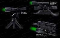 Фонарь - целеуказатель лазерный Laser Genetics ND3х50